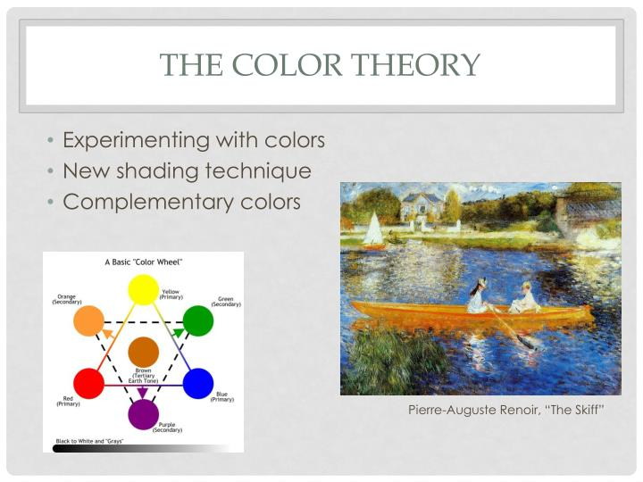 The Color theory