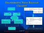 discriminative na ve bayesian classifier
