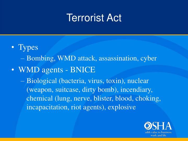 Terrorist Act