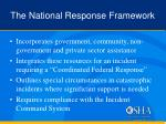 the national response framework1