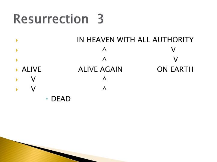 Resurrection  3