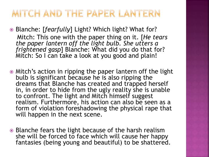 Mitch and the paper lantern
