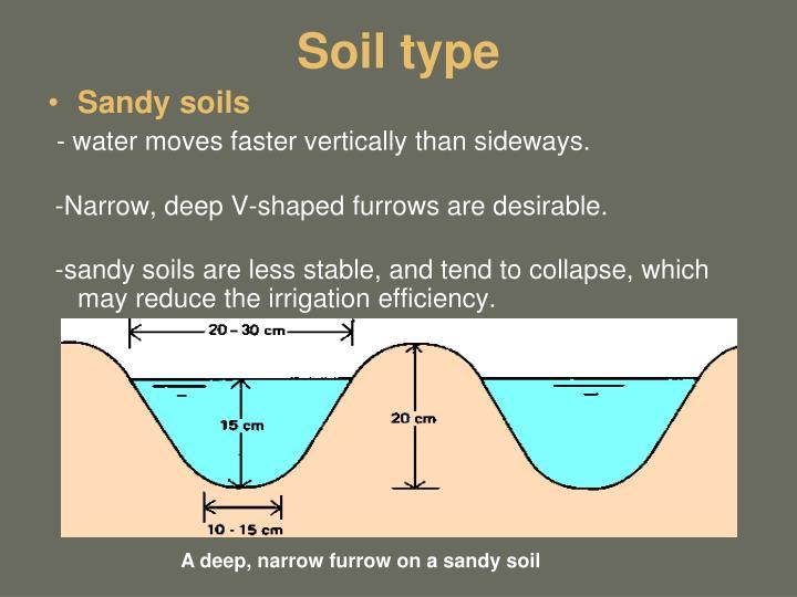 Soil type