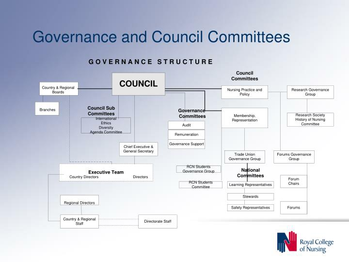 Governance and Council Committees