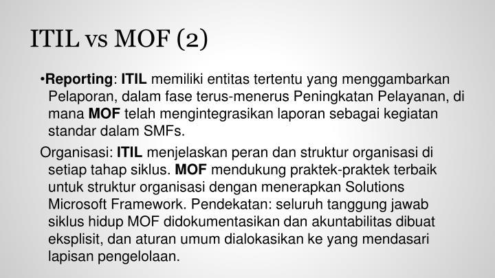 ITIL vs MOF (2)