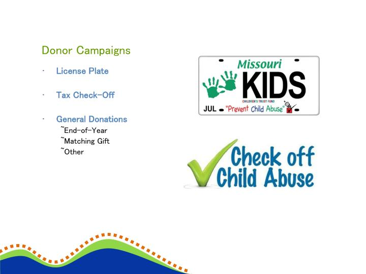 Donor Campaigns
