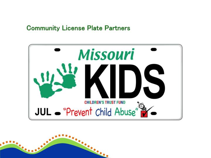 Community License Plate Partners