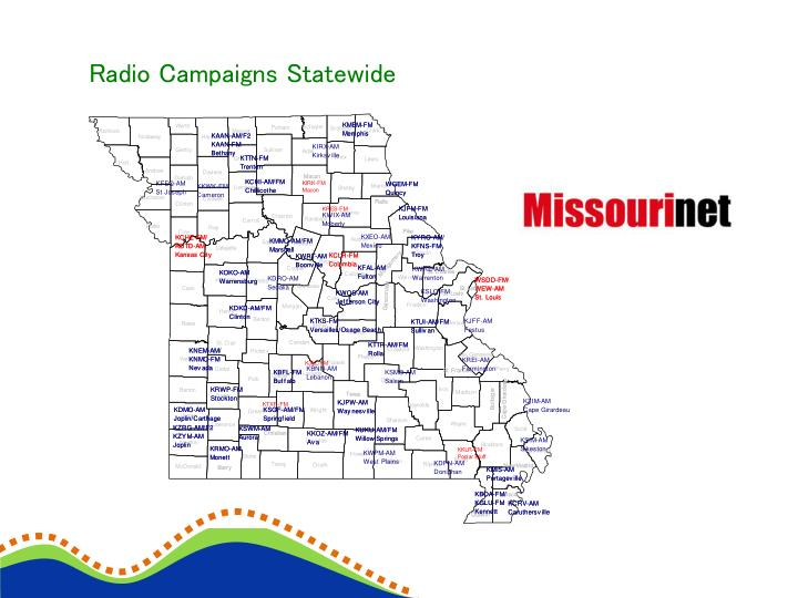 Radio Campaigns Statewide