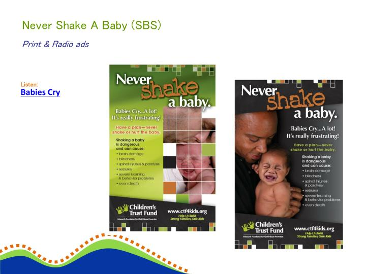 Never Shake A Baby (SBS)