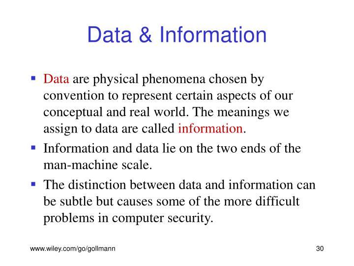 Data & Information