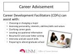 career advisement