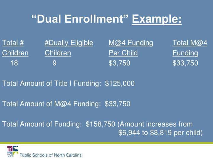 """""""Dual Enrollment"""""""