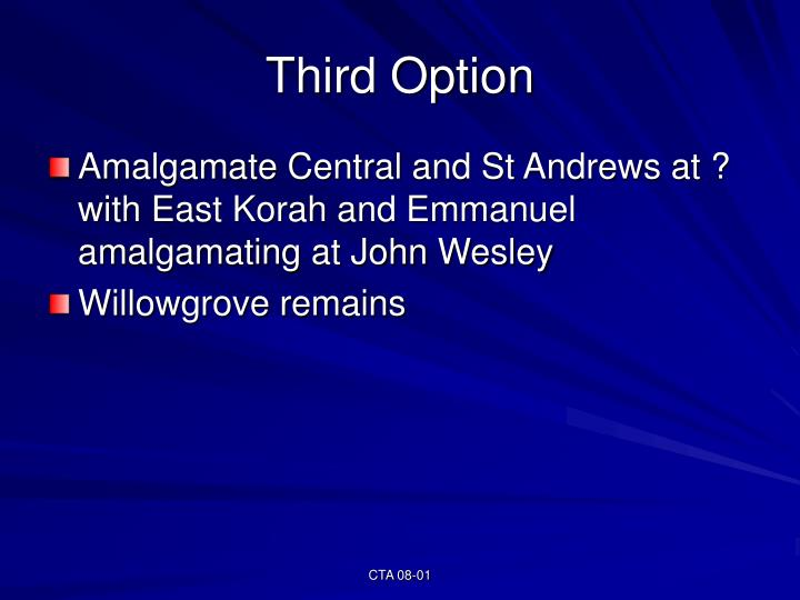 Third Option
