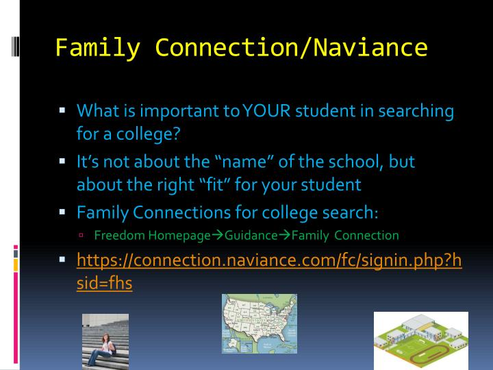 Family Connection/Naviance