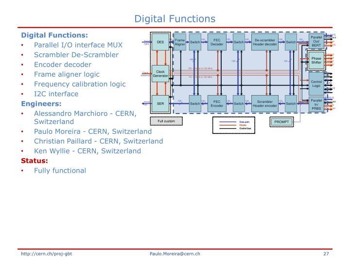 Digital Functions