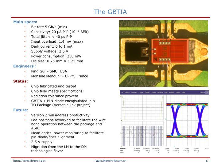 The GBTIA