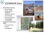 icewater data
