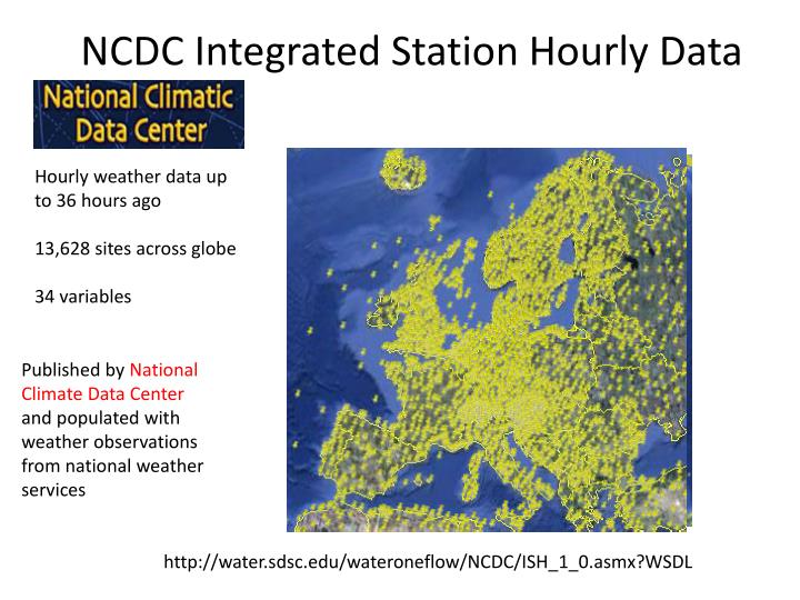 NCDC Integrated Station Hourly Data