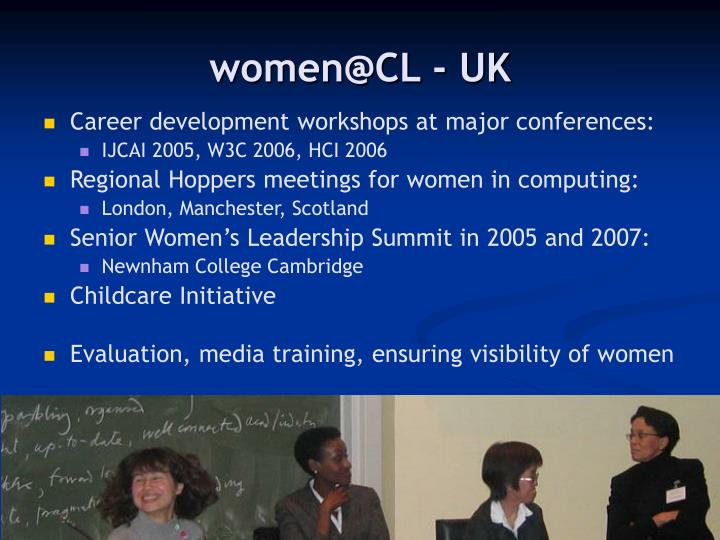 women@CL - UK