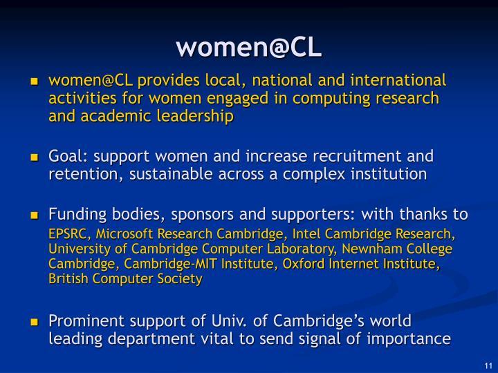 women@CL