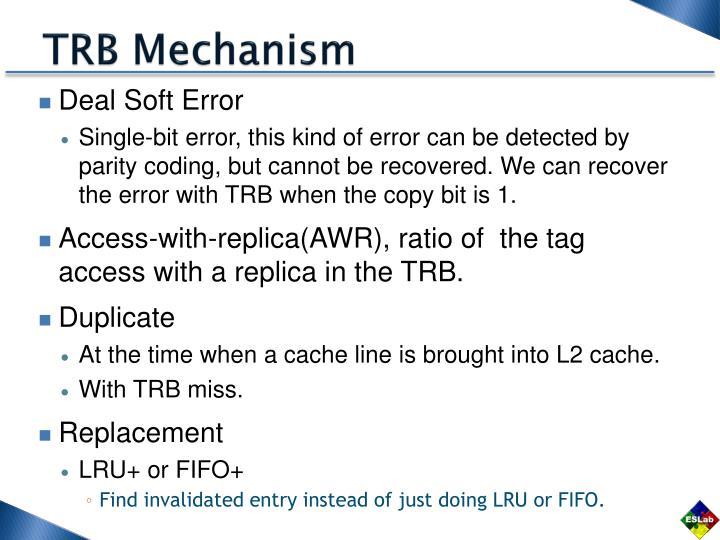 TRB Mechanism
