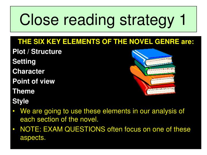 Close reading strategy 1