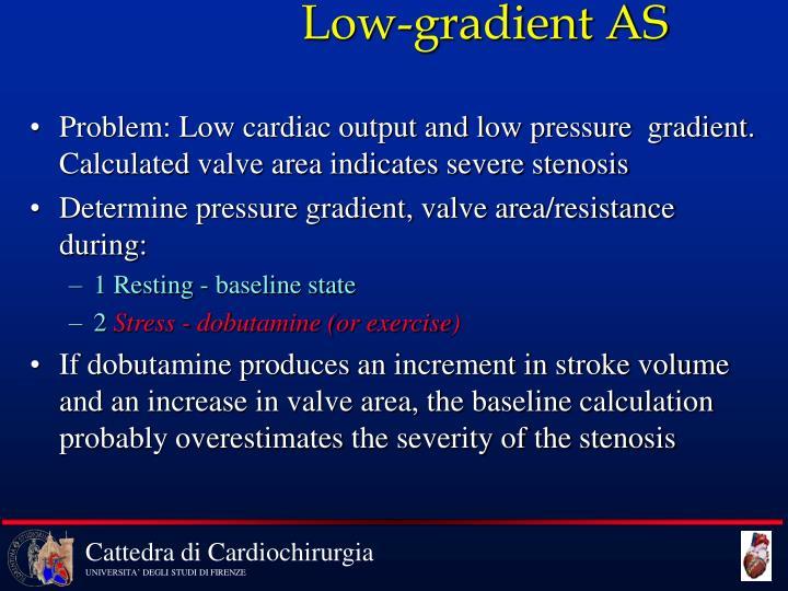 Low-gradient AS