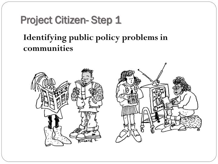 Project Citizen- Step 1