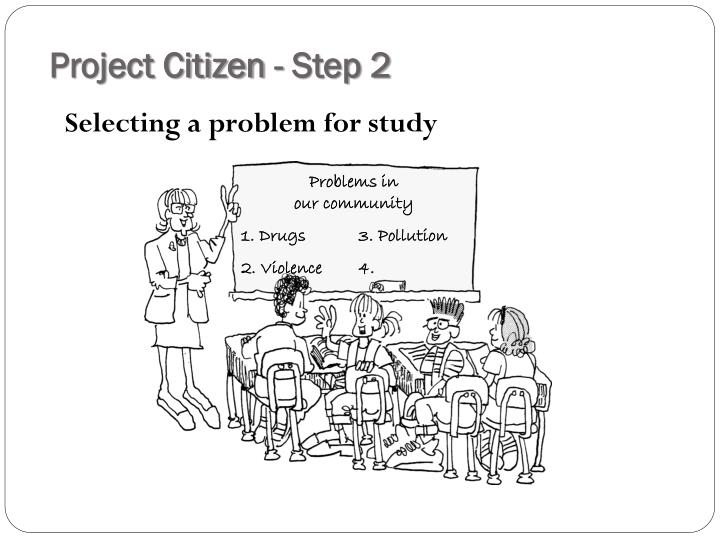 Project Citizen - Step 2