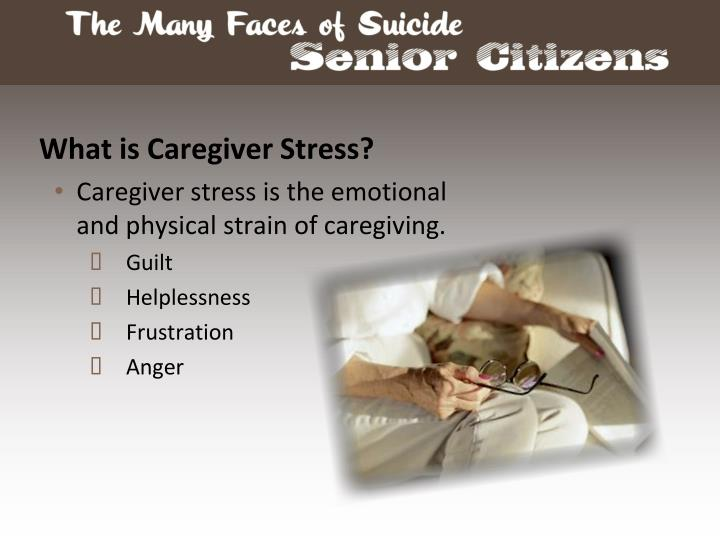 What is Caregiver Stress?