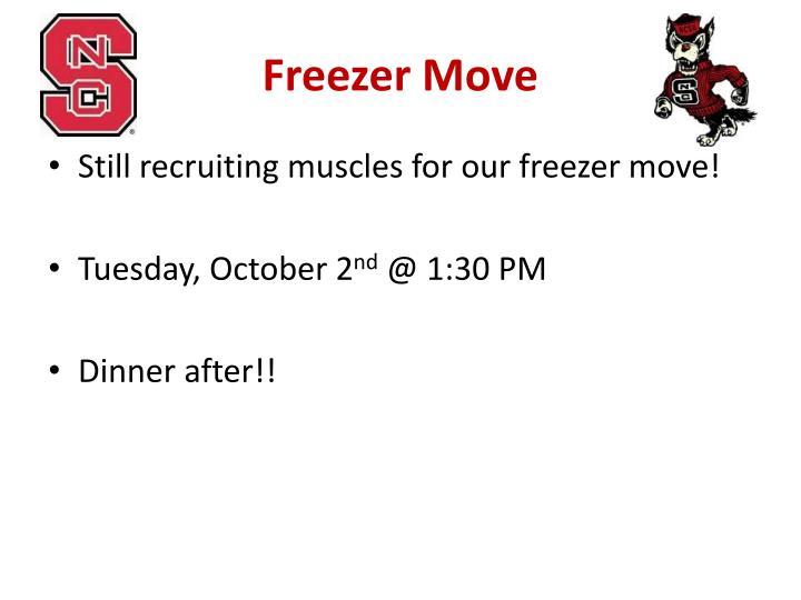 Freezer Move