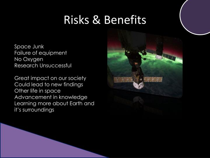 Risks & Benefits