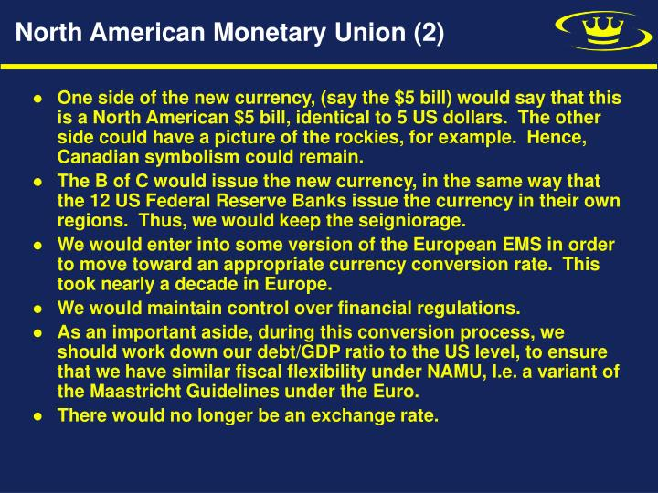 North American Monetary Union (2)