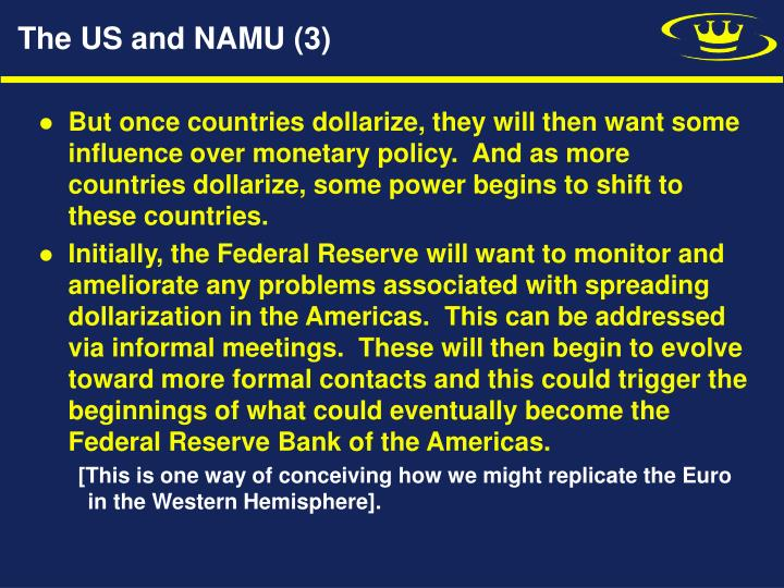 The US and NAMU (3)