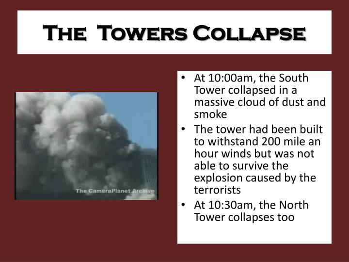 The  Towers Collapse