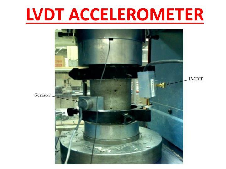 LVDT ACCELEROMETER