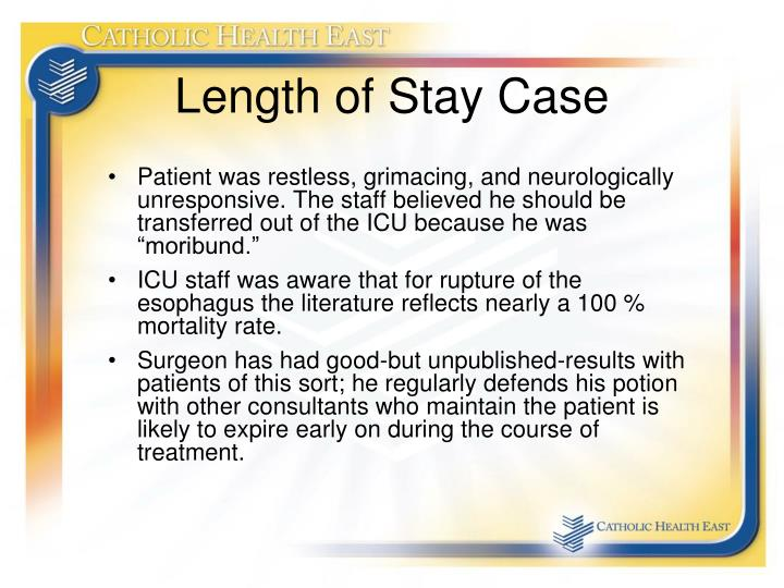 Length of Stay Case