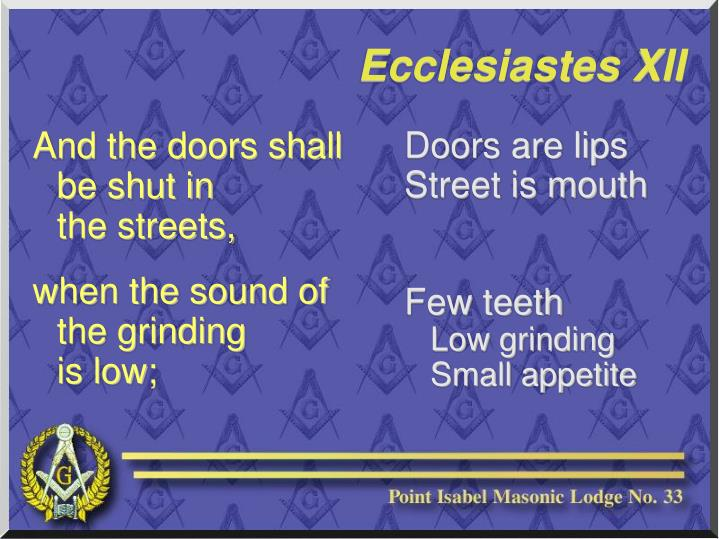 Doors are lips