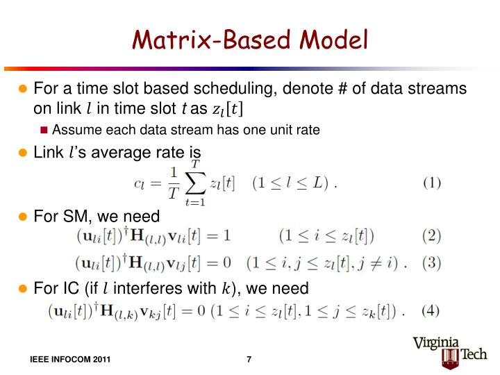 Matrix-Based Model