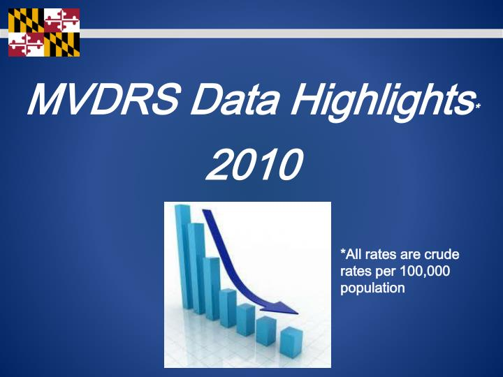 MVDRS Data Highlights