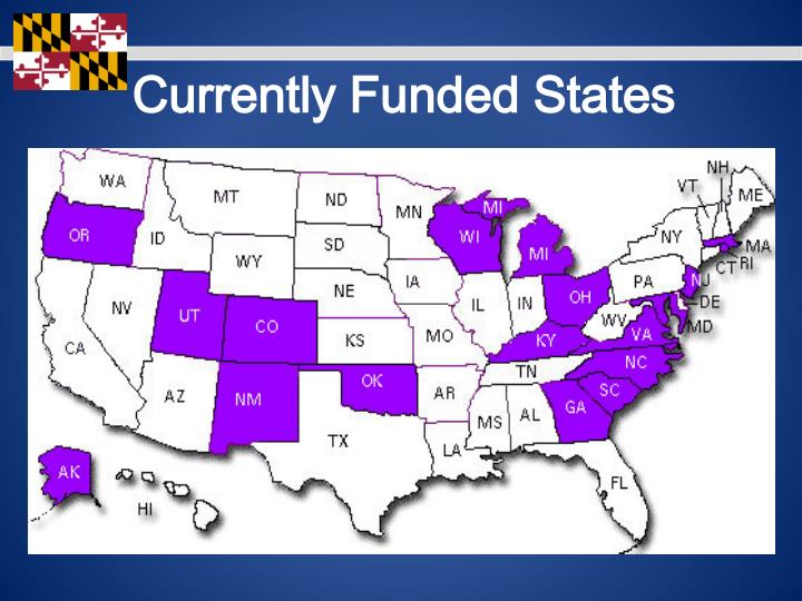 Currently Funded States
