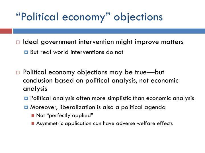 """""""Political economy"""""""