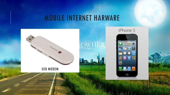 Mobile internet harware
