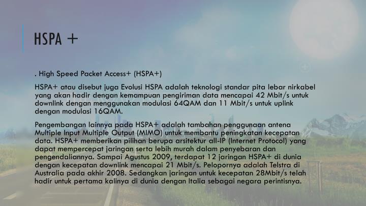 HSPA +
