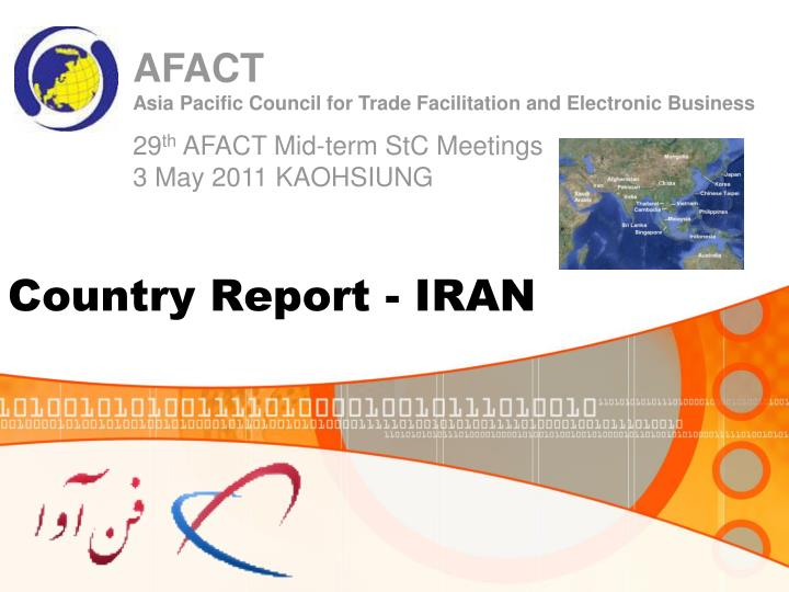 Country report iran