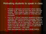 motivating students to speak in class1