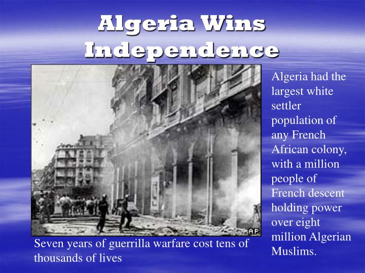 Algeria Wins Independence