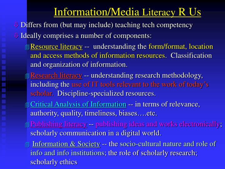 Information/Media