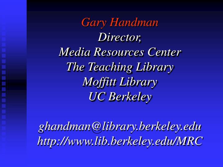 Gary Handman