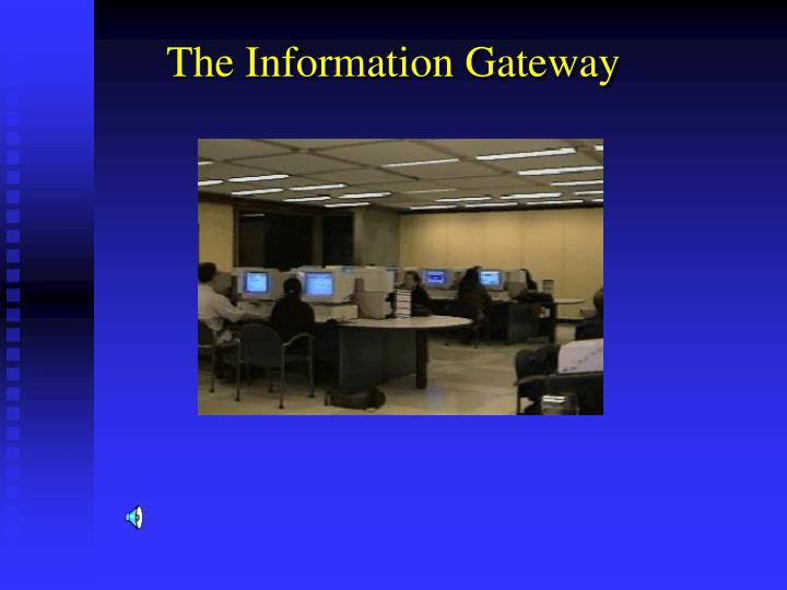 The Information Gateway
